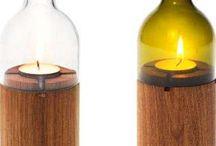 Освещение в бутылках