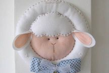 Baby & Kids - Wreaths, Door & Wall Hangings / by Kay Nicholls