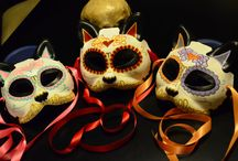 Máscaras papel maché
