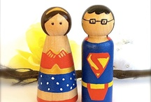 Cute wedding toppers
