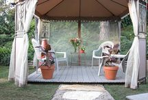 Outdoor spaces / by Heather Crain