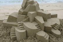 Street art (sand castles,etc)