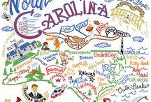 North Carolina destinations