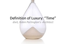 about Luxury / What does Luxury mean? ¿Qué significa el lujo? LuxYOURy is absolutely personal. www.albertalagrup.com