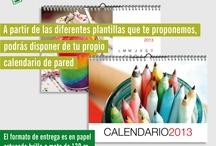 Calendarios #personalizados / Si quieres diseñar tus propios calendarios #personalizados, este es tu sitio