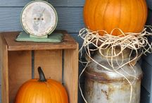 Fall Decor / Chic decor for fall & halloween.
