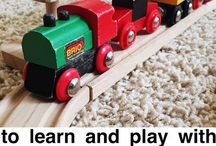 Cars/Trains / A things cars and trains related for children.