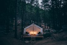 THE GREAT OUTDOORS / Log cabin envy and beach campfires - things to make us want to feel the earth beneath our feet and the wind in our hair.