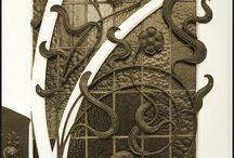 Nironer Art nouveau door