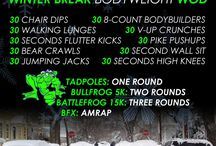 Cross-Fit Inspired Workouts