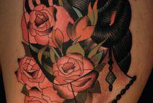 Tattooed Temples / Tattoos