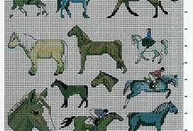 Ristipistoja - hevosia II