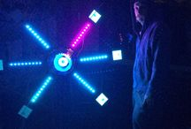 Kinetica / Sound reactive Led kinetic sculpture by Eben Geeaves