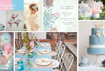 Inspiration Boards! / What's the first thing you should do before planning your big day? Set up an inspiration board to help you along the way! / by Oh-Brides Wedding Magazine