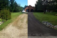 Eco-Friendly Recycled Asphalt / Want a great looking and recycled driveway for your home or business? We would love to help you un-pave the way!