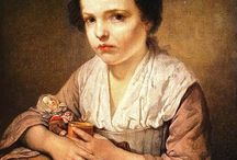 French child 18th century