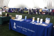 Community Outreach / Your BBB offers free presentations and seminars on Senior Scams, Smart Investing, Business Ethics, Data Security and more through its Speakers Bureau presentations. Outreach events also consist of attending community fairs, business expos and home shows. / by BBB Western PA