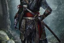 Samurai orcs