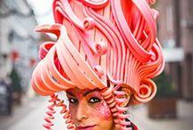 Crafts - Foam wigs
