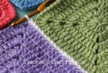 Flat stich join squares