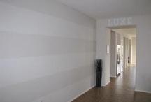livingroom walls... are getting stripes