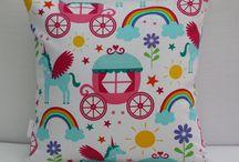 Personalised Rainbow Cushion