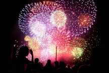 TRAVEL: Fireworks Around the World / Fireworks are fun to watch. Beautiful displays around the world show that we all love to have fun and celebrate. / by Blanche Hayden
