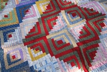 Log Cabin ,Pineapples,Courthouse Steps Quilts