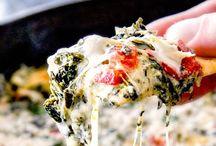 Brie spinach dip