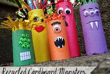 Toilet paper roll crafts / by Christy Dombrowski