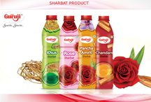 Special Sharbat products / In this summer sharbat is a best product for your health so shree guruji provides the many types of sharbat like  Rose sharbat, chandan sharbat if you want to enjoy this summer with  sharbat products.