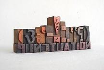 Typography, letter forms / by Karen Ganske