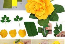 bunga paper flower
