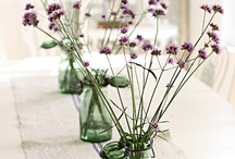 simply pretty / simple bridal bouquets and wedding decorations