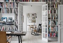 Library/reading nook