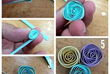 quilling piese