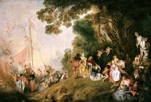 Jean Antoine Watteau / Jean Antoine Watteau (Valenciennes, 10 ottobre 1684 – Nogent-sur-Marne, 18 luglio 1721) pittore francese.