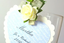 wedding stationery: place cards / Wedding place cards, handmade by byjo.co.uk in Cardiff, South Wales, UK