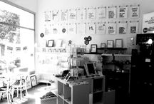 """FUNI BERLIN / Funi is 3 in one: (gift)shop   art(gallery)   (organic) café and every single compartment is whole-heartedly dedicated to uniqueness. this small independent project from berlin is based on the motto """"extraordinary is everything but unusual"""" which runs throughout the entire outfit – the shop, the café and the mini-gallery."""