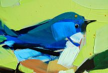 pintar aves