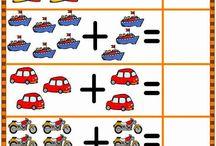 1. osztály - matek