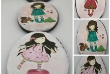 hand painted cookies by Ponona Cakes