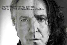 Alan Rickman/ Severus Snape