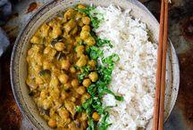 Curry Kichererbsen Pfanne