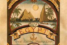 Láminas de Egipto