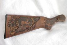 Gunstock carvings