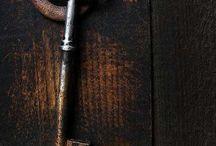 Keys locks and door ways.