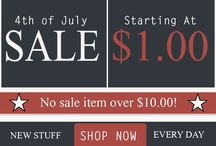 4th of July Sale / by Great Useful Stuff