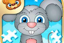 123 Kids Fun Puzzle Blue / #puzzle #apps #kids #fun #games #education