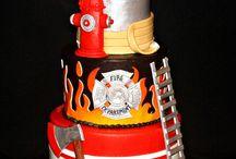 Požiarnicke torty